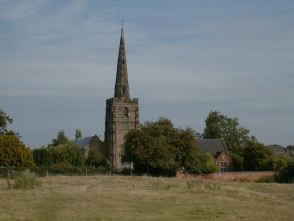 View of St Michael's Church